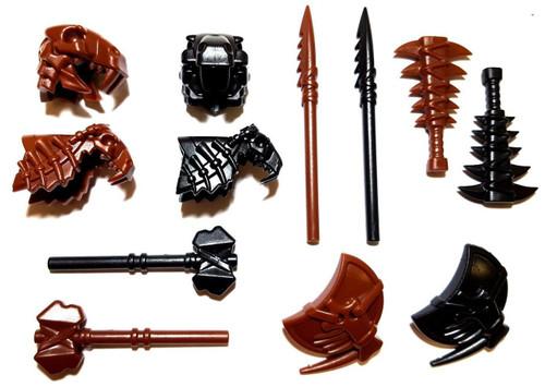 BrickWarriors Caveman Warrior Minifigure Accessories