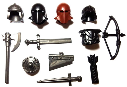 BrickWarriors Medieval Executioner Minifigure Accessories