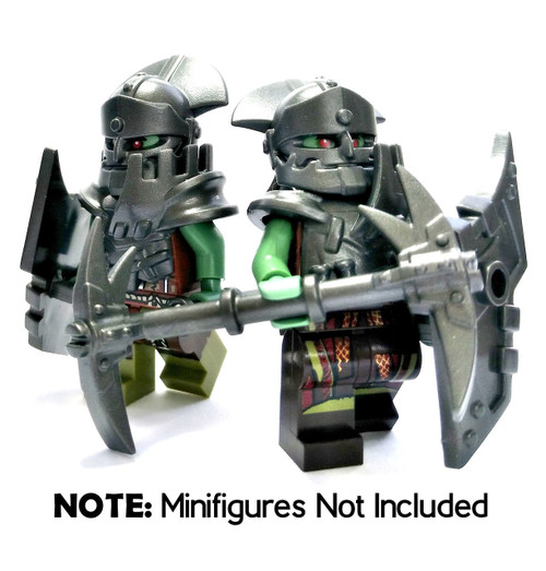 BrickWarriors Evil Orc Minifigure Accessories