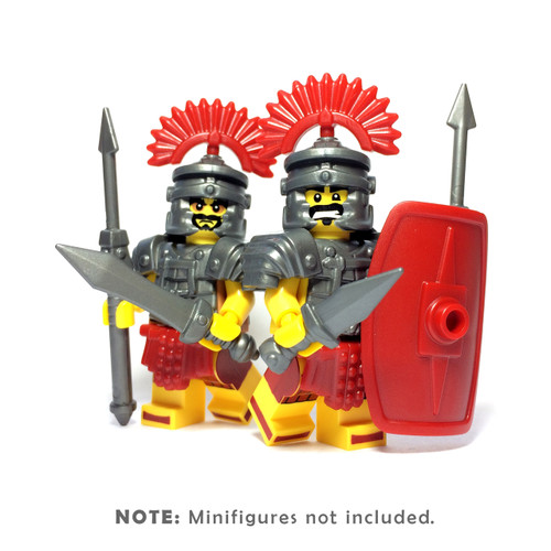 BrickWarriors Roman Legionnaire Minifigure Accessories