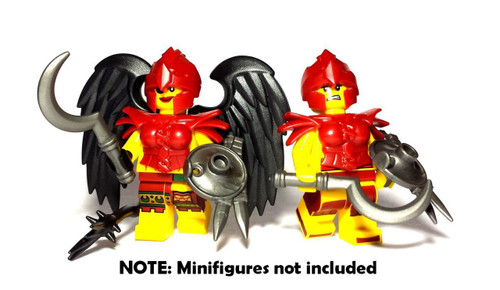 BrickWarriors Harpy Warrior Minifigure Accessories