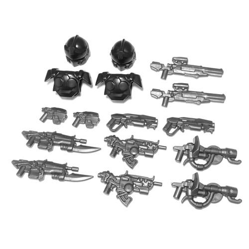 BrickWarriors Space Army Minifigure Accessories