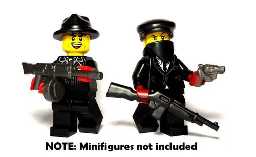 BrickWarriors Mobster Minifigure Accessories