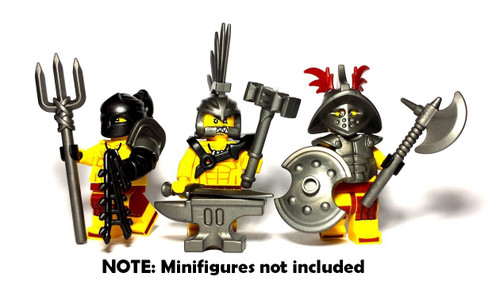 BrickWarriors Ultimate Gladiator Minifigure Accessories