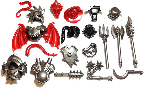 BrickWarriors Ultimate Fantasy Monster Minifigure Accessories