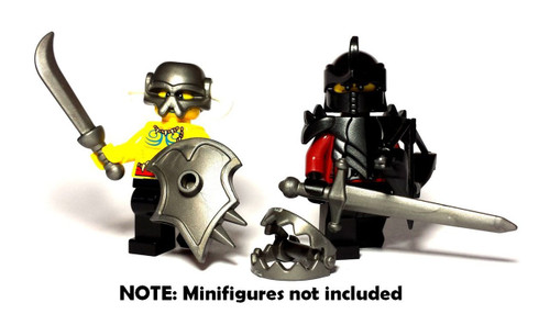 BrickWarriors Woodland Ranger Minifigure Accessories