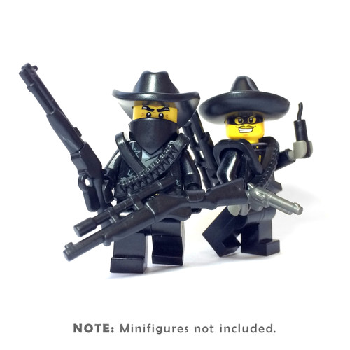 BrickWarriors Outlaw Minifigure Accessories