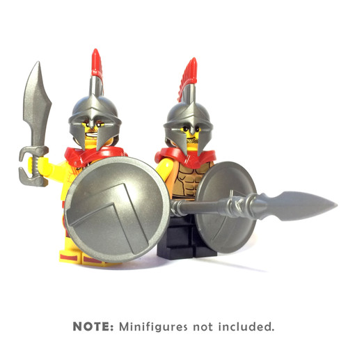 BrickWarriors Spartan Army Minifigure Accessories