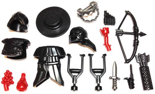 "BrickWarriors 2.5"" Scale Assassin Disguise Builder Pack"