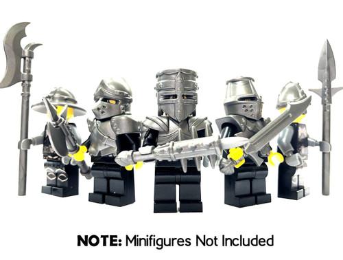 BrickWarriors Medieval Crusader Minifigure Accessories