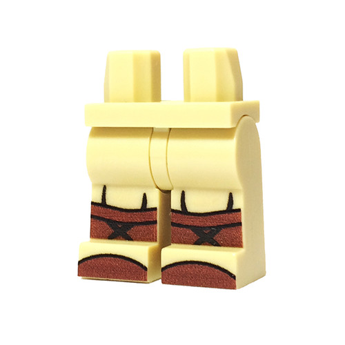Custom Printed Minifigure Legs - US Infantry Legs