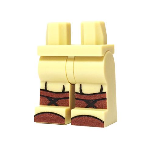Custom Printed Minifigure Legs - US Infantry Legs