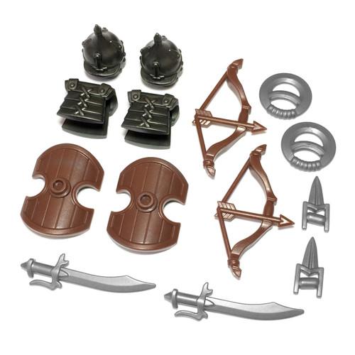 "BrickWarriors 2.5"" Scale Arabian Swordsman Army Builder Pack"
