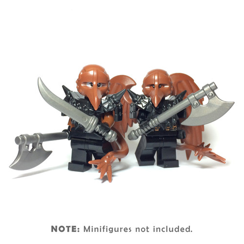 BrickWarriors Birdman Minifigure Accessories