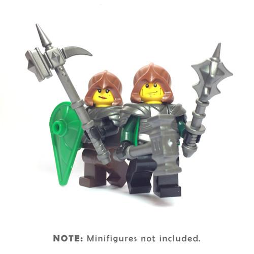 BrickWarriors Cleric Knight Minifigure Accessories