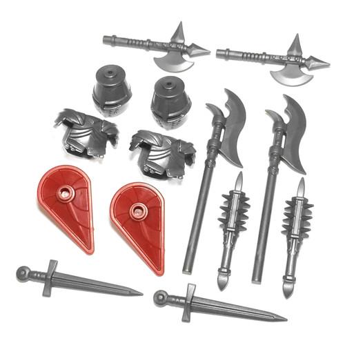 BrickWarriors Classic Castle Knight Minifigure Accessories