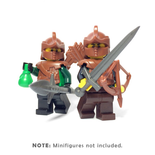 BrickWarriors Castle Ranger Minifigure Accessories