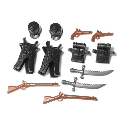 "BrickWarriors 2.5"" Scale Redcoat Army Builder Pack"