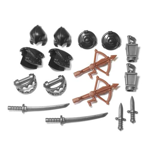 BrickWarriors Crossbow Hunter Minifigure Accessories