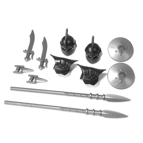 "BrickWarriors 2.5"" Scale Thrall Pikeman Army Builder Pack"