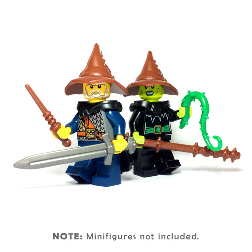 BrickWarriors Wizard Warrior Minifigure Accessories
