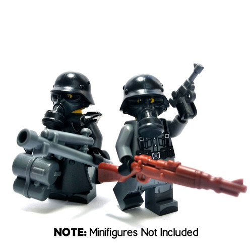 BrickWarriors WW2 German Flame Trooper Minifigure Accessories