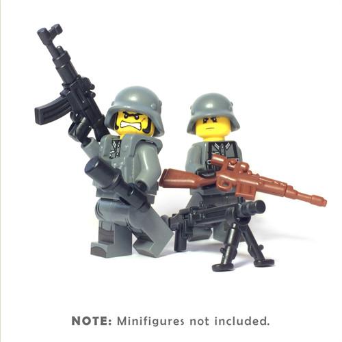 BrickWarriors WW2 German Storm Trooper Minifigure Accessories