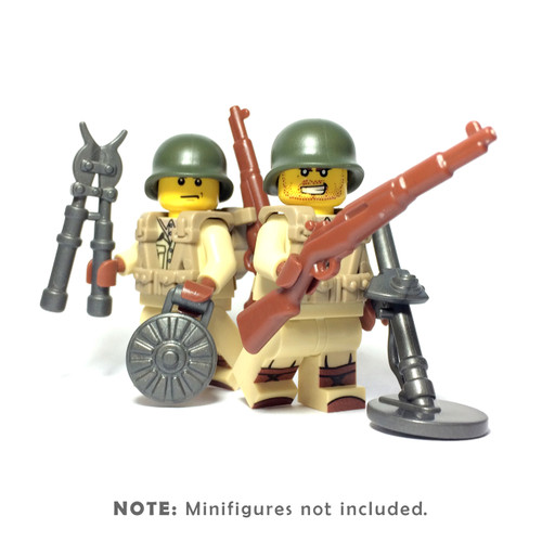 BrickWarriors WW2 US Sapper Minifigure Accessories