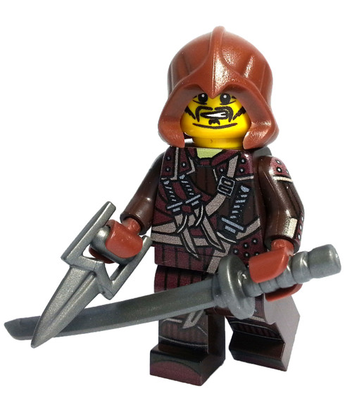 Custom LEGO® Minifigure - Human Assassin