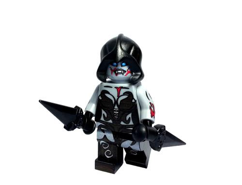 Custom LEGO® Minifigure - Female Vampire
