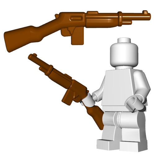 Minifigure Gun - Gangster Rifle