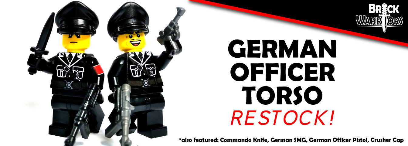 Custom Printed LEGO Torso