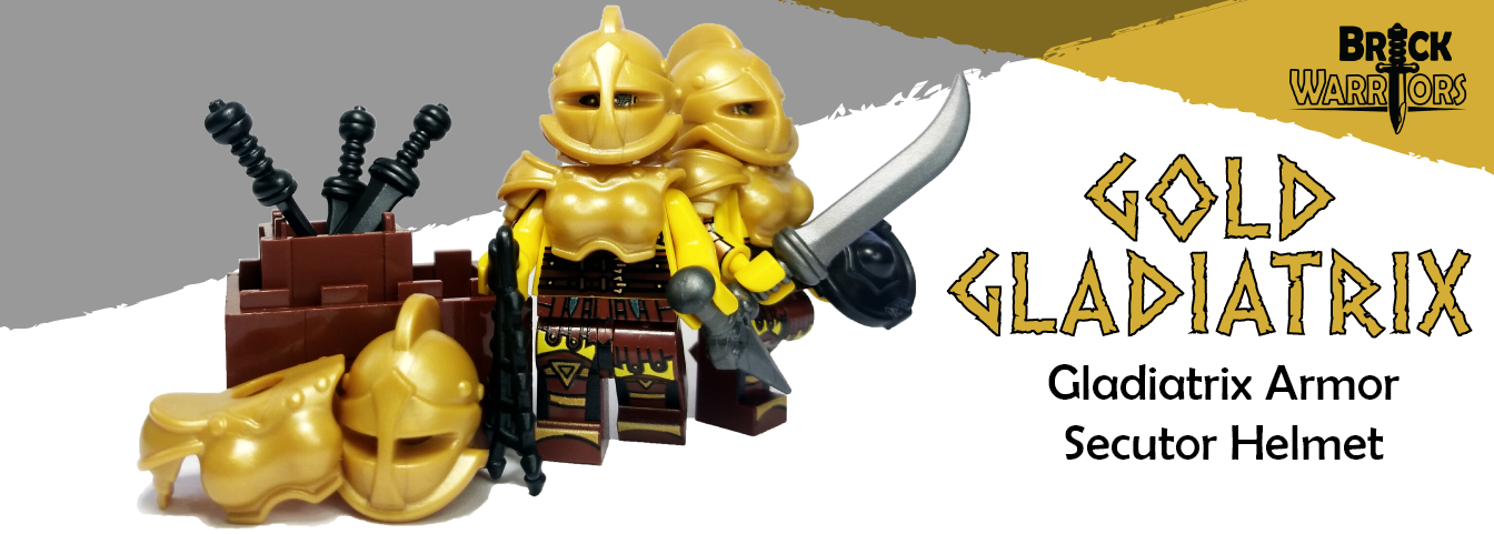 Custom LEGO Armor and Weapons