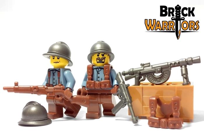 Custom LEGO Helmet Spotlight - Adrian Helmet - BrickWarriors Horned Viking Helmet Goblin Rocket Helmet