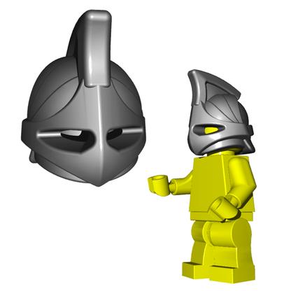 Minifigure Helmet - Rhino Helmet Horned Viking Helmet Goblin Rocket Helmet