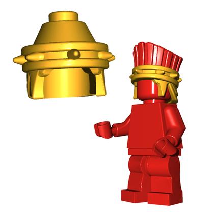 Minifigure Helmet - Philistine Helmet Horned Viking Helmet Goblin Rocket Helmet
