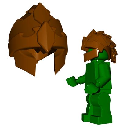 Minifigure Helmet - Harpy Helmet Horned Viking Helmet Goblin Rocket Helmet