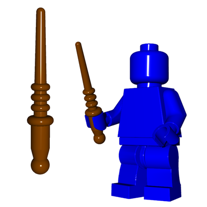 Minifigure weapon magic wand for Wooden elder wand for sale