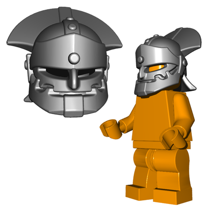 Minifigure Helmet - Orc Helmet Horned Viking Helmet Goblin Rocket Helmet