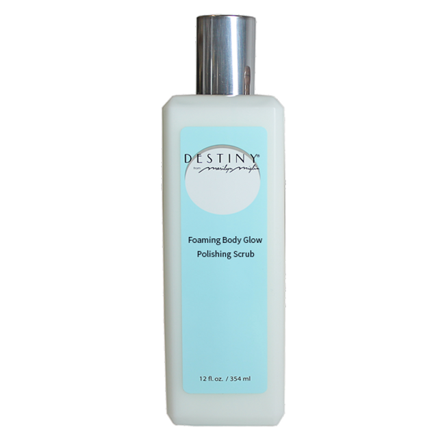 Destiny Foaming Body Glow Polishing Scrub 12 oz