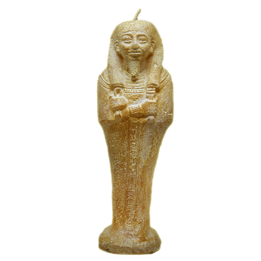 Pharaoh Statue Candle