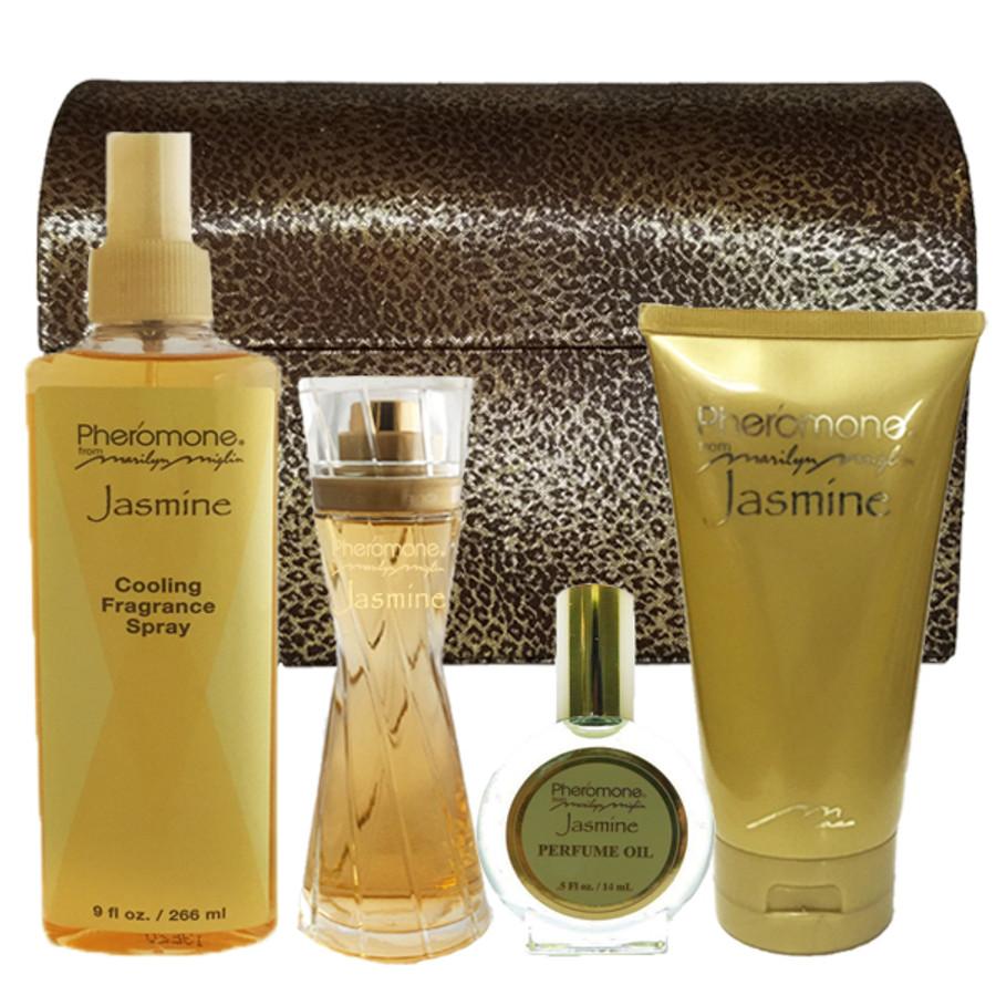 """Pheromone Jasmine """"Fresh and Sexy"""" Gift Set"""
