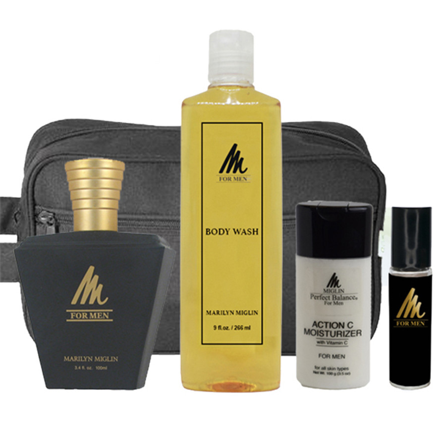 "M For Men ""Memorable Man"" Gift Set"