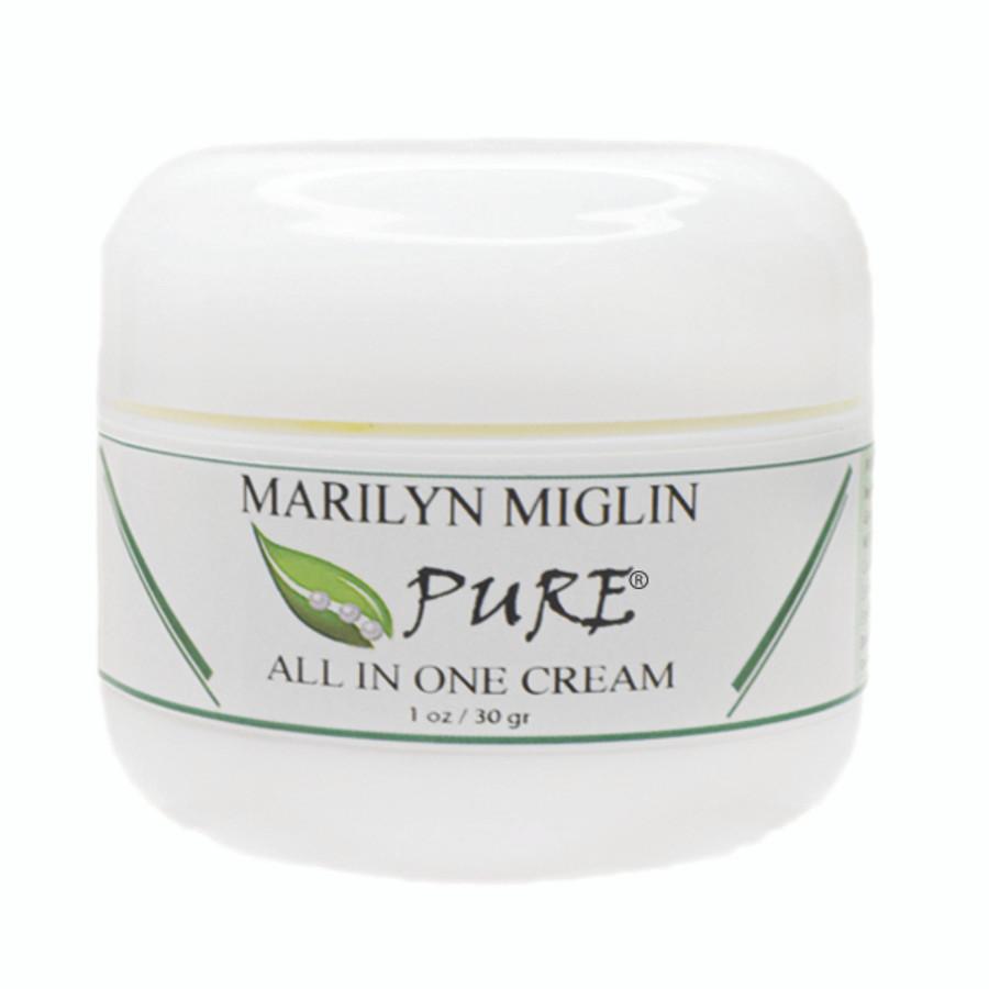 "Marilyn Miglin Pure ""All In One Cream"" 1 oz - NEW"