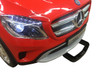 Mercedes GLA red battery car for kids