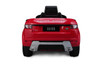 Red Range Rover for kids