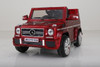 Mercedes g65 red car for kids