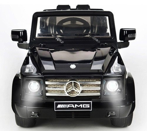 Battery power stylish mercedes benz g55 12v black for Mercedes benz battery warranty