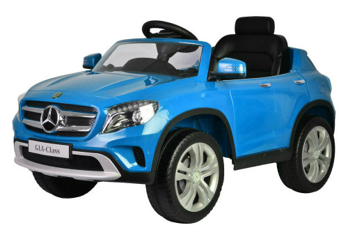 Mercedes GLA blue power battery car with LED wheels