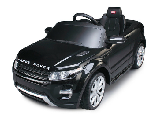 Range Rover Black power battery car with LED wheels